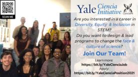 Yale Ciencia Job 2021